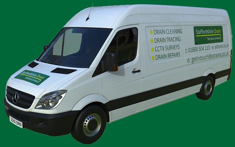 Staffordshire Drain Services Van